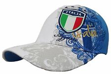 Italy Flag Soccer Hat Cap New With Tags by Rhinox