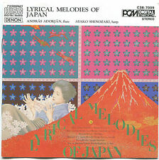 CD-Lyrical Melodies Of Japan-Andras Adorajan-Ayako Shinozaki-1982 PCM C38-7009