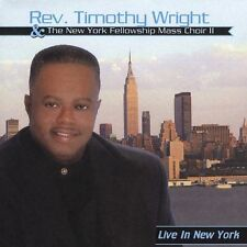 Timothy Wright - L:ive In New York - New factory Sealed CD