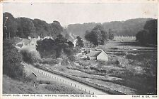 BIBERY GLOS UK FROM THE HILL~THE FISHERY~ARLINGTON ROW & C.~ TAUNT & CO POSTCARD