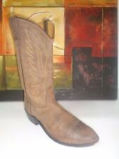 Old West Cowboy Boots Mens Round Goodyear Neolite Apache OW2051 Sz 10.5D