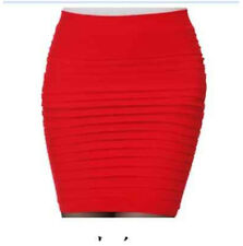 New Women's Girl Slim Stretch Bodycon Bandage Micro Mini Skirt
