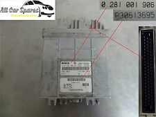 Volvo V40/S40 1.9 Diesel - Main Engine ECU - 0 281 001 906