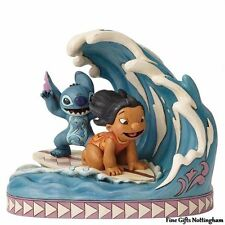 Disney Traditions Lilo & Stitch Figurine - Catch The Wave - Jim Shore