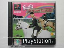 jeu BARBIE AVENTURE EQUESTRE pour playstation 1 ps1 ps one francais fille spiel