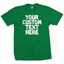 Custom Toon T-Shirt - Personalized Cartoon Comic Font Tee - All Sizes & Colors