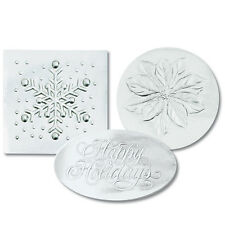 Silver Variety Pack Christmas Card Seals 40/pk