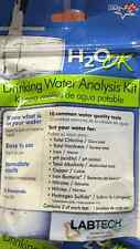 Labtech Drinking Water Analysis Kit - 2 of each 10 Tests for Water Quality