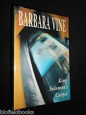 Uncorrected Proof Copy of King Solomon's Carpet by Ruth Rendell/Barbara Vine 1st