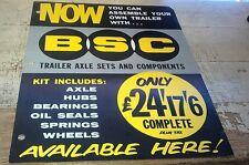 1959 ? BSC Trailer Axle Sets & Springs Australian Sales Leaflets