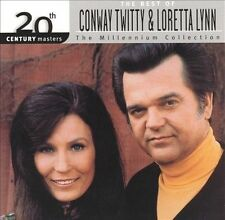 20th Century Masters: Millennium Collection, Lynn, Loretta, Twitty, Conway,New,