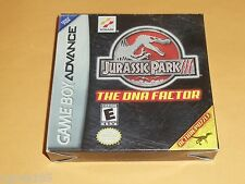 Jurassic Park III 3 DNA Factor GAMEBOY ADVANCE GBA CIB complete Game boy game