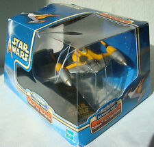Star Wars Naboo N-1 Starfighter Micro Machines Hasbro 2002 with Display Stand