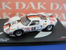 Die cast 1/43 Ford GT40 N68 Le Mans 1969 by Ixo