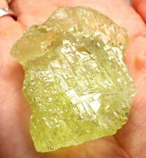 HELIODOR-UKRAINE 235.7Ct/47.14g LARGE ETCHED FLOATER CRYSTAL-TRANSPARENT-READ!