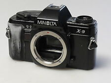 (PRL) MINOLTA X-9 BODY 35 mm SLR SPARE PARTS FOTORIPARATORE REPAIR REPARATION