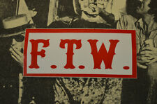 Hells Angels Nomads, AZ USA - F.T.W. - Stickers