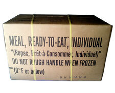 Military MRE Case -12 Meals Ready to Eat - Case B Sealed Test Date 2018