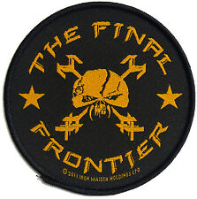 IRON MAIDEN THE FINAL FRONTIER SEW ON PATCH NEW & OFFICIAL BAND MERCHANDISE
