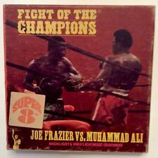 Frazier vs Ali Fight of the Champions Super 8mm Black & White Film