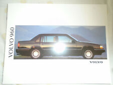 Volvo 960 range brochure 1992 German text