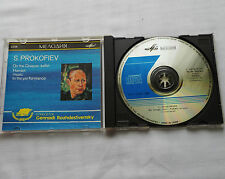 ROZHDESTVENSKY/PROKOFIEV On the Dnieper,Hamlet... Rare USSR/RUSSIA CD MELODYIA