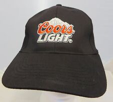 Coors Light  beer  cap hat adjustable flex fit