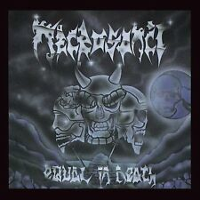 Necrosanct - Equal in Death CD 1991 death metal Kraze press
