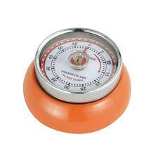 Zassenhaus Retro 'Speed' - Kitchen Timer with Magnet - 55 Mins - Orange