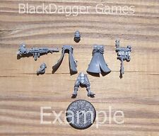 40K Adeptus Mechanicus  Skitarii Vanguard w/ Radium Carbine Single Figure