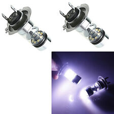 2pcs HID White H7 6000K 100W LED 20-SMD Cree Projector Fog Driving DRL Bulb