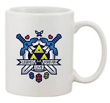 Hit Restart Game Swords Link Princess Zelda Video Game Funny DT White Coffee Mug