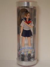 Takara (Japan) Compact Doll CD-21 in Sailor-style Red White and Blue (New, NRFB)