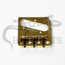 NEW Wilkinson Telecaster BRIDGE GOLD for Fender Tele Guitar Brass Saddle #32