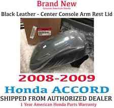 Genuine OEM Honda Accord EX Black Leather Armrest Lid 2008-2009