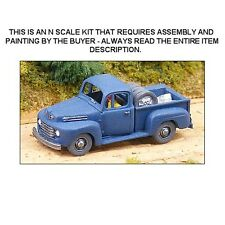 N SCALE: 1950 FORD F-1 PICKUP TRUCK KIT - GHQ KIT#57008
