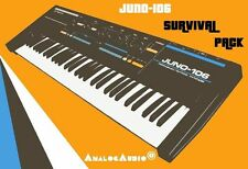 *** ROLAND JUNO-106 Survival Pack - NEW STUDIO PATCHES + FACTORY SOUNDS