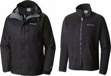 "COLUMBIA MENS ""Winter Park Pass"" Omni Heat 3in1 interchange Winter Jacket,Sz M"