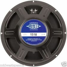 "Eminence LEGEND 1518 15"" Guitar Speaker 8 ohm - NEW - FREE SHIPPING!"