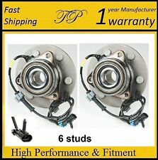 FRONT Wheel Hub Bearing Assembly for GMC Sierra 1500 (4WD 4X4) 1999-2006 PAIR