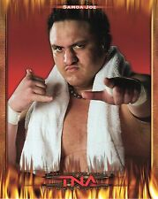 "SAMOA JOE TNA IMPACT WRESTLING RARE PROMO PHOTO 8x10"" wwe"