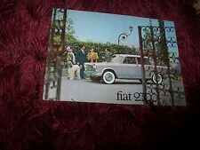 Catalogue /  Brochure FIAT 2300 de Luxe 196? //