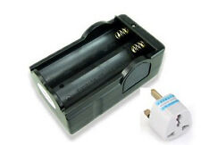 18650  smart dual charger for 18650 rechargeable batteries