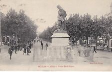 CPA 41  HERAULT  BEZIERS STATUE PAUL RIQUET