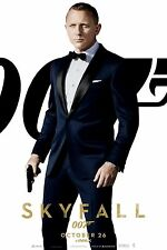 Skyfall James Bond Slim Fit Blue 2 Piece Wedding Party Suit-High quality Replica