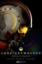 1/6 Star Wars Luke Skywalker Red Five X-wing Pilot Sideshow Collectibles 2132