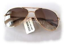 NWT STEVE MADDEN Womens Sunglasses S5607 Gold/Brown $40