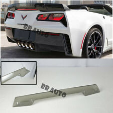 For 14-Up Corvette C7 Z06 Z07 Stage 3 Light Tint Rear Spoiler Upgrade Wickerbill