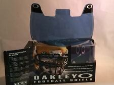 New Oakley 42-012 Adult Blue Football Visor Eye Shield