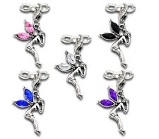 10 Mixed Fairy Clip On Charms. Fit Link Chain Bracelet